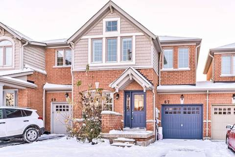 Townhouse for sale at 67 Cozens Dr Richmond Hill Ontario - MLS: N4634771