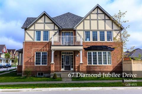 House for rent at 67 Diamond Jubilee Dr Markham Ontario - MLS: N4455283
