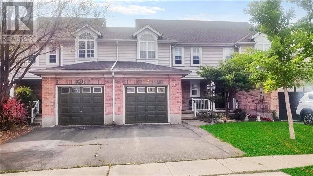 Townhouse for sale at 67 Elma Pl Cambridge Ontario - MLS: 30768801