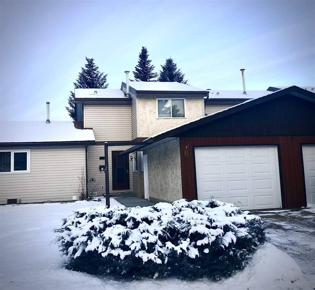 Townhouse for sale at 67 Forest Gr St. Albert Alberta - MLS: E4176790