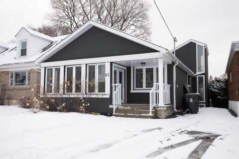 House for rent at 67 Galbraith Ave Toronto Ontario - MLS: E4749220