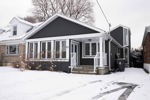 House for rent at 67 Galbraith Ave Toronto Ontario - MLS: E4702188