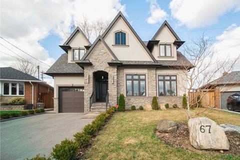 House for sale at 67 Glen Agar Dr Toronto Ontario - MLS: W4414458