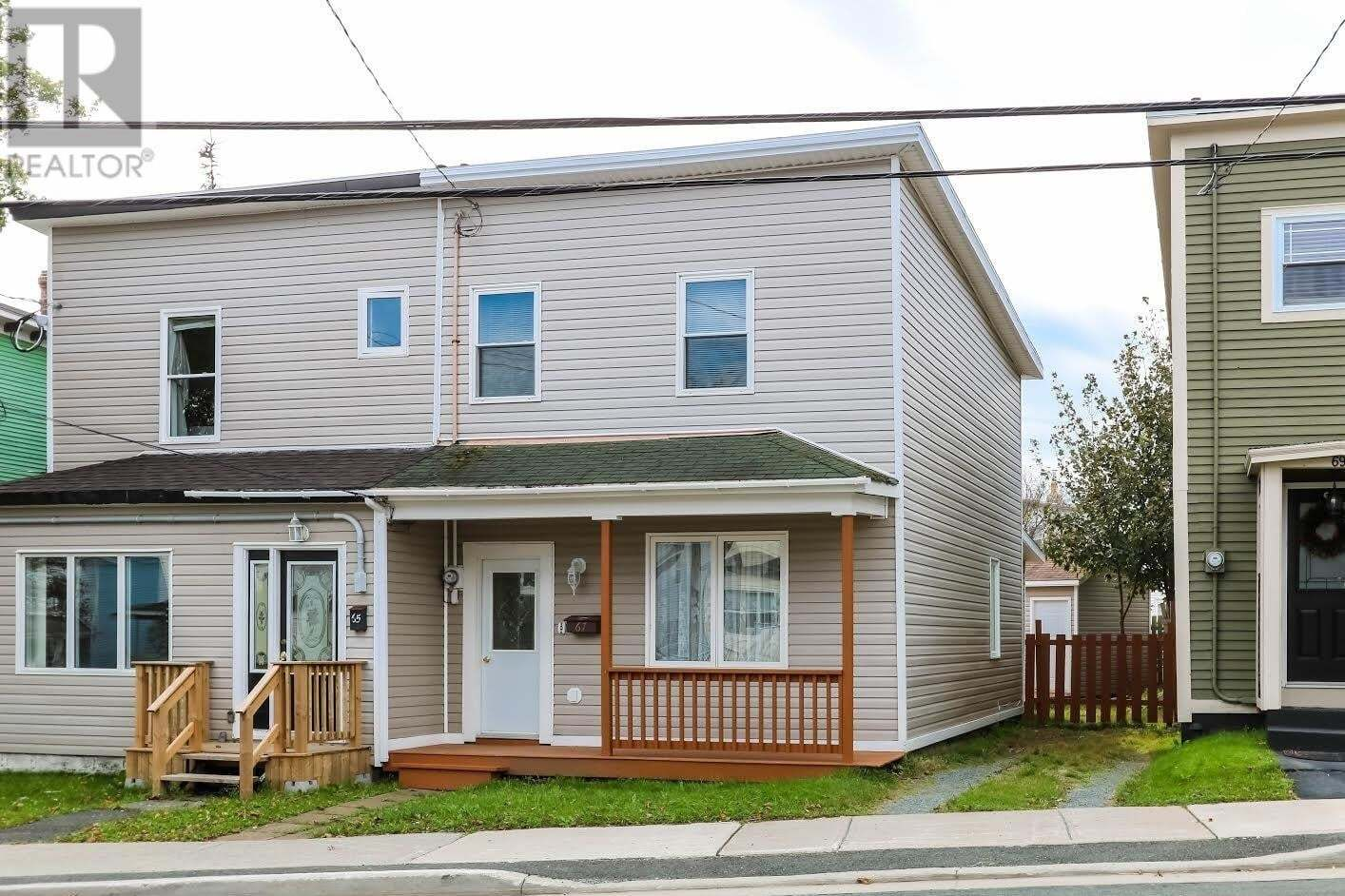 House for sale at 67 Golf Ave St. John's Newfoundland - MLS: 1222295