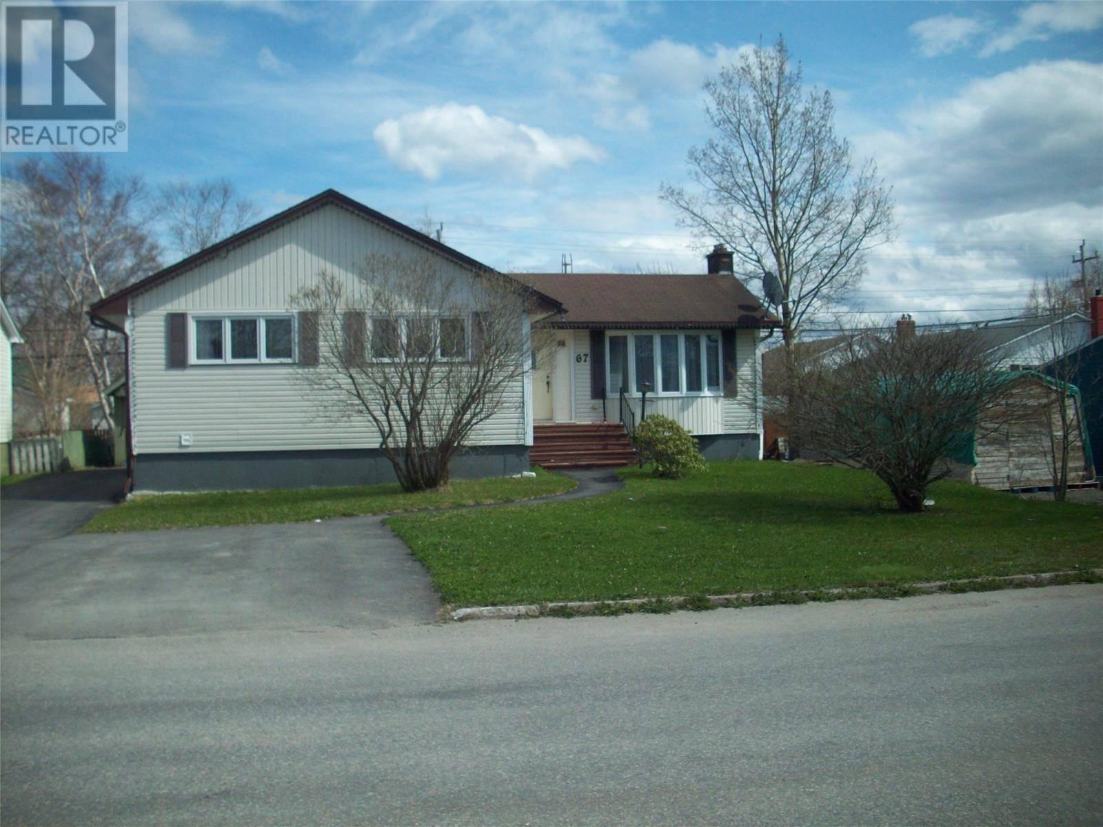 House for sale at 67 Hawker Cres Gander Newfoundland - MLS: 1196974