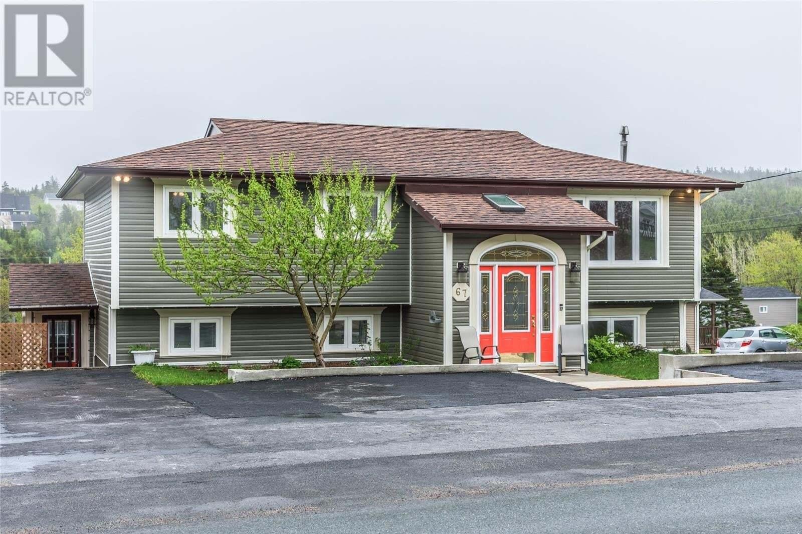 House for sale at 67 Indian Meal Line Torbay Newfoundland - MLS: 1214650