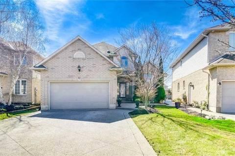 House for sale at 67 Jeffrey Dr Hamilton Ontario - MLS: X4421859