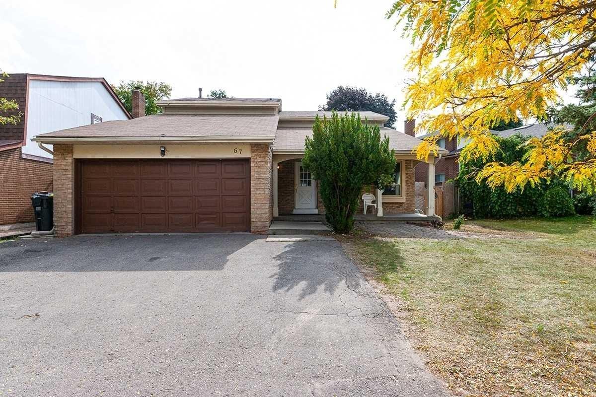 House for sale at 67 Massey St Brampton Ontario - MLS: W4928403