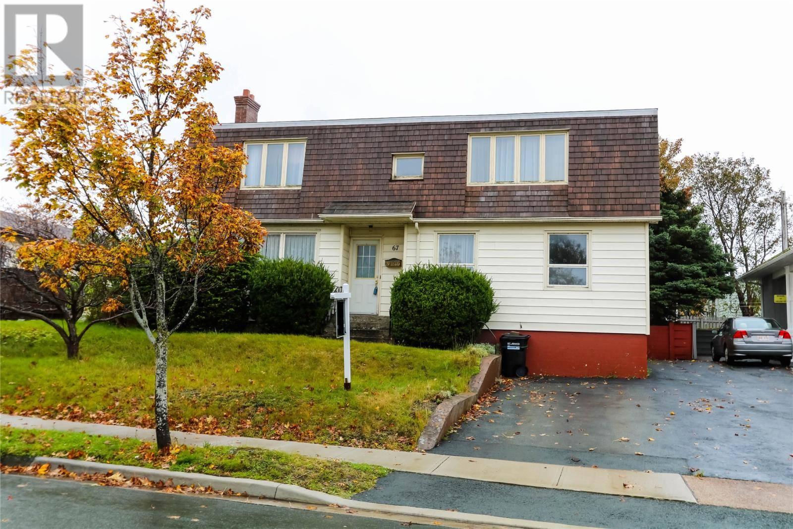 House for sale at 67 O'regan Rd St. John's Newfoundland - MLS: 1205407