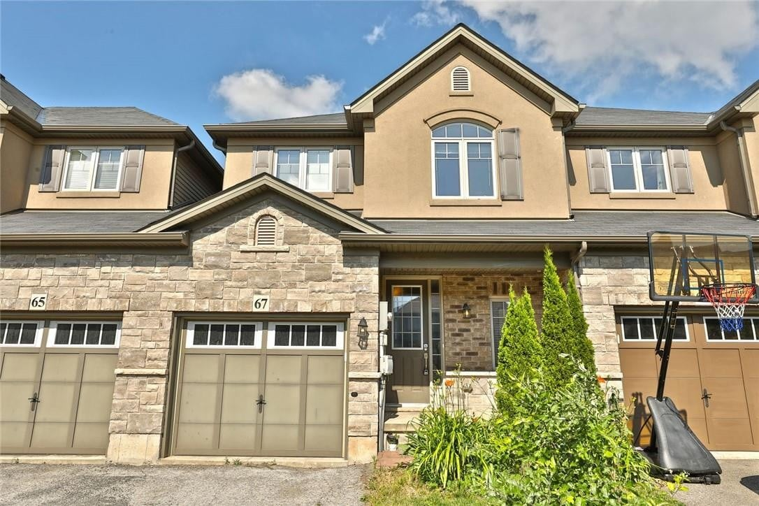 Townhouse for sale at 67 Sexton Cres Ancaster Ontario - MLS: H4081441
