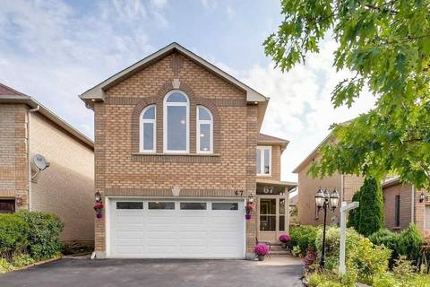House for sale at 67 Sunridge St Richmond Hill Ontario - MLS: N4634720