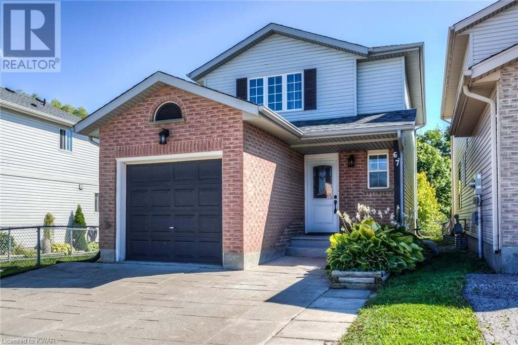 House for sale at 67 Westmeadow Dr Kitchener Ontario - MLS: 40021149
