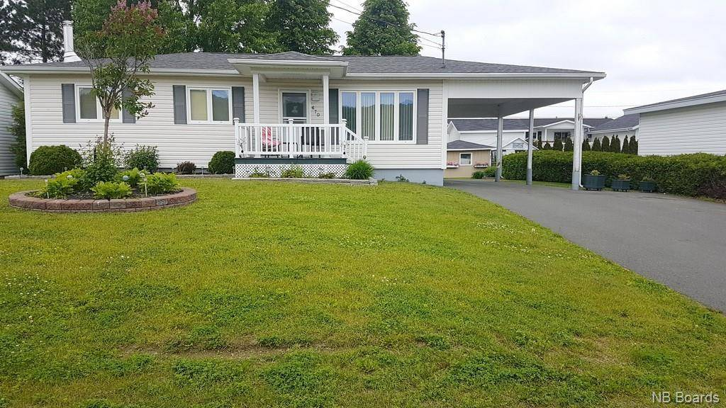 House for sale at 670 3 Ave Grand Sault/grand Falls New Brunswick - MLS: NB027986