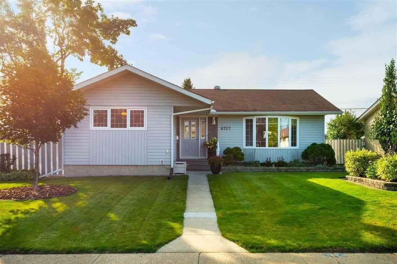 House for sale at 6707 94b Av NW Edmonton Alberta - MLS: E4215577
