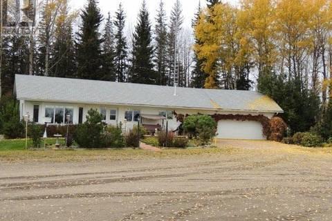 House for sale at 10036 Highway 672 Hy Unit 672 Beaverlodge Alberta - MLS: GP203087