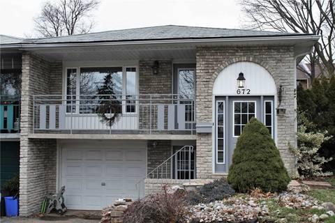 Townhouse for rent at 672 Castleguard Cres Burlington Ontario - MLS: W4697978