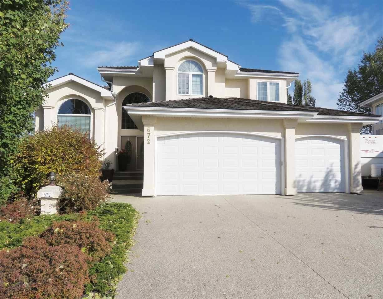 House for sale at 672 Henderson St Nw Edmonton Alberta - MLS: E4164053