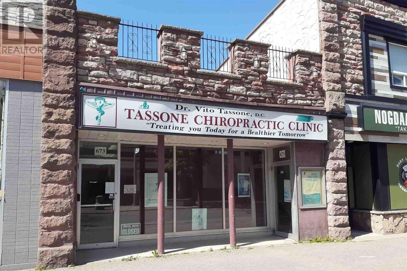 Commercial property for sale at 673 Queen St E Sault Ste. Marie Ontario - MLS: SM128934