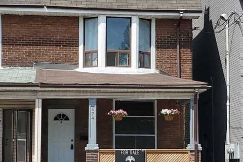 Townhouse for sale at 674 Bathurst St Toronto Ontario - MLS: C4485777