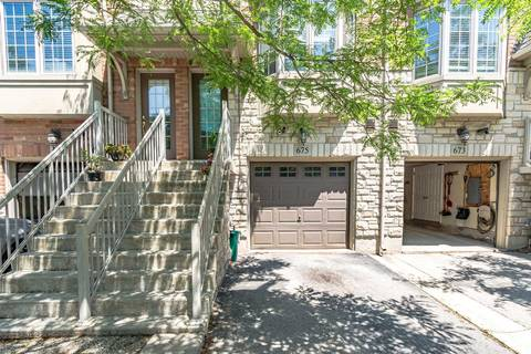 Townhouse for sale at 675 Rowley Common  Burlington Ontario - MLS: W4508407