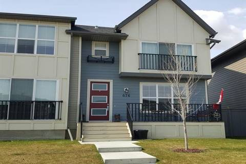 Townhouse for sale at 676 Walden Dr Southeast Calgary Alberta - MLS: C4236974