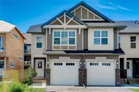 Townhouse for sale at 101 Sunset Dr Unit 677 Cochrane Alberta - MLS: C4292270
