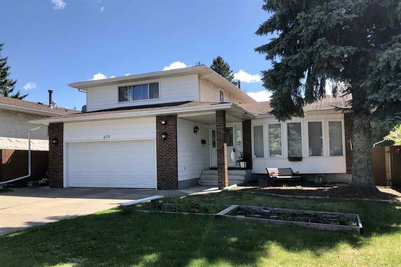 House for sale at 679 Lee_ridge Rd NW Edmonton Alberta - MLS: E4194807