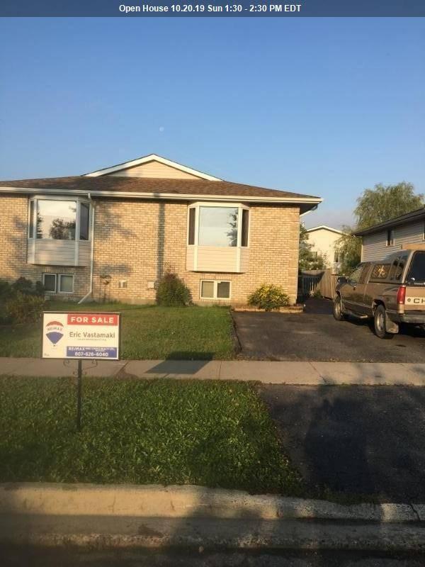 House for sale at 679 Mercier  Thunder Bay Ontario - MLS: TB193104