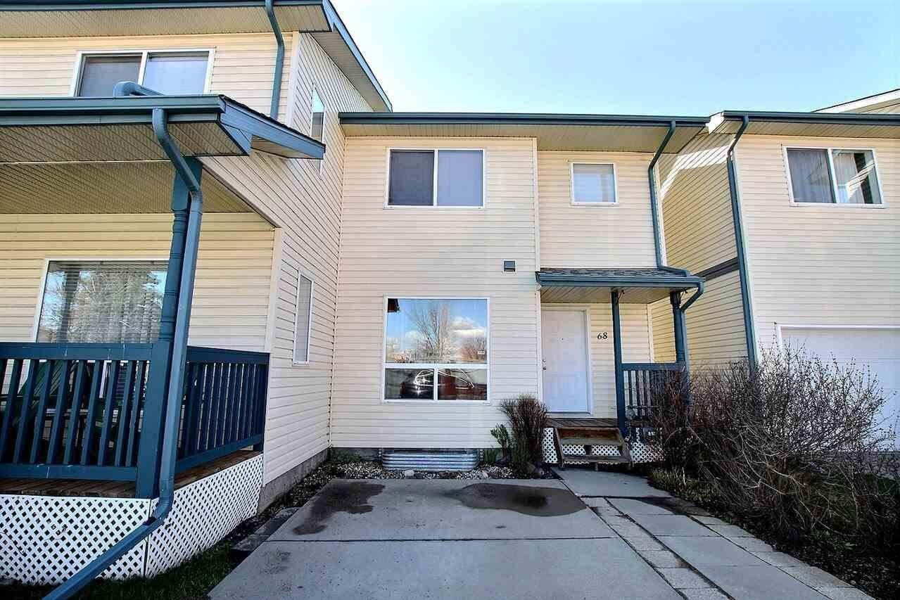 Townhouse for sale at 10909 106 St NW Unit 68 Edmonton Alberta - MLS: E4196727