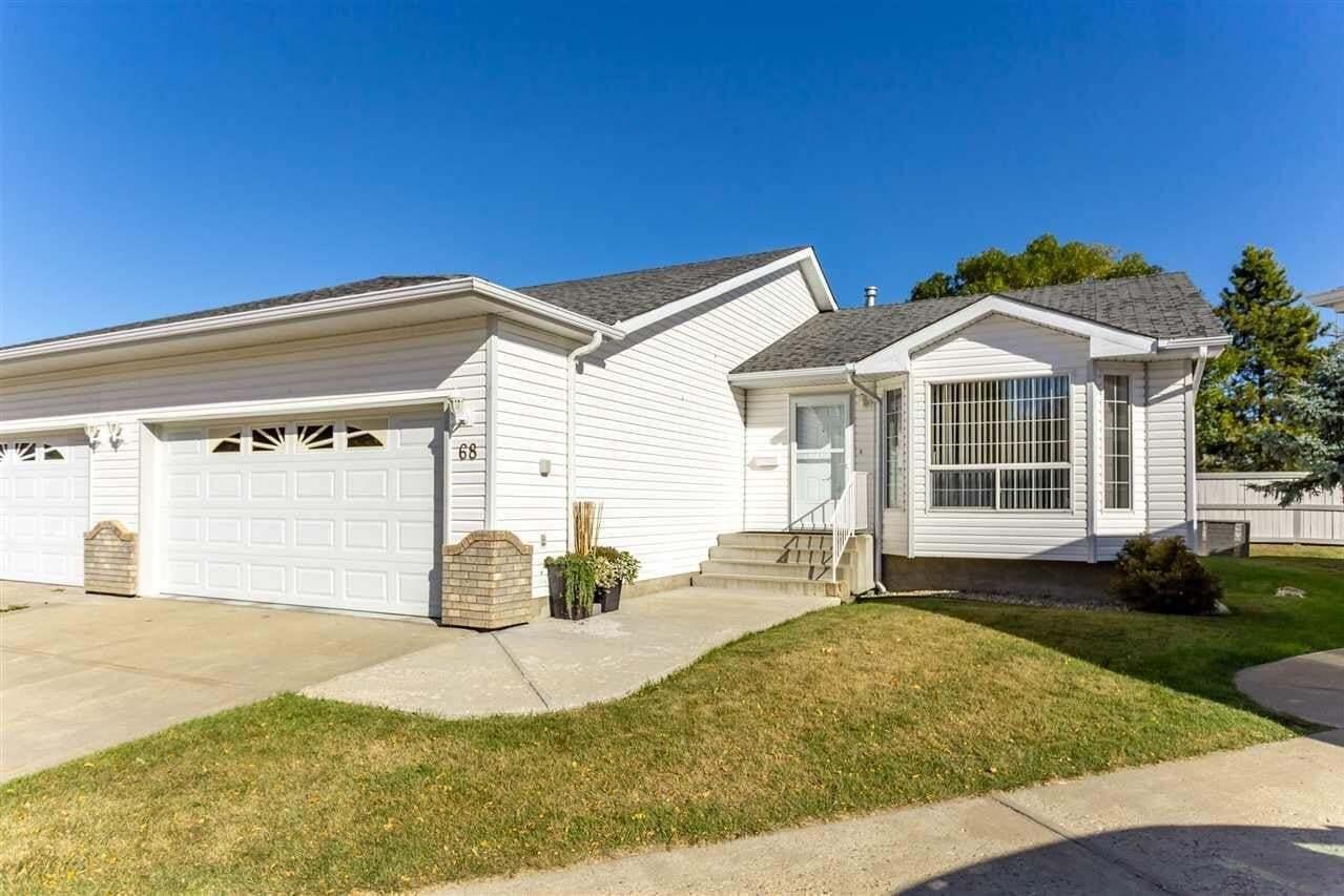 Townhouse for sale at 3 Poirier Av Unit 68 St. Albert Alberta - MLS: E4216703