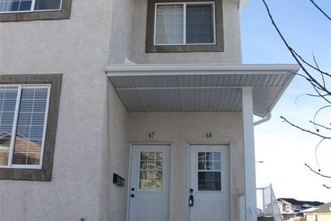Condo for sale at 4101 Preston Cres Unit 68 Regina Saskatchewan - MLS: SK797466