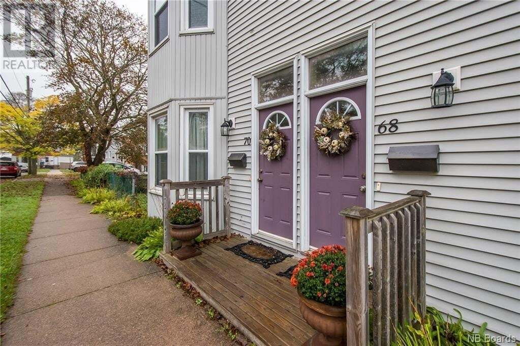 Townhouse for sale at 70 Collins St Unit 68 Saint John New Brunswick - MLS: NB049639