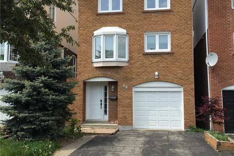 Home for rent at 68 Carnival Ct Toronto Ontario - MLS: C4697883