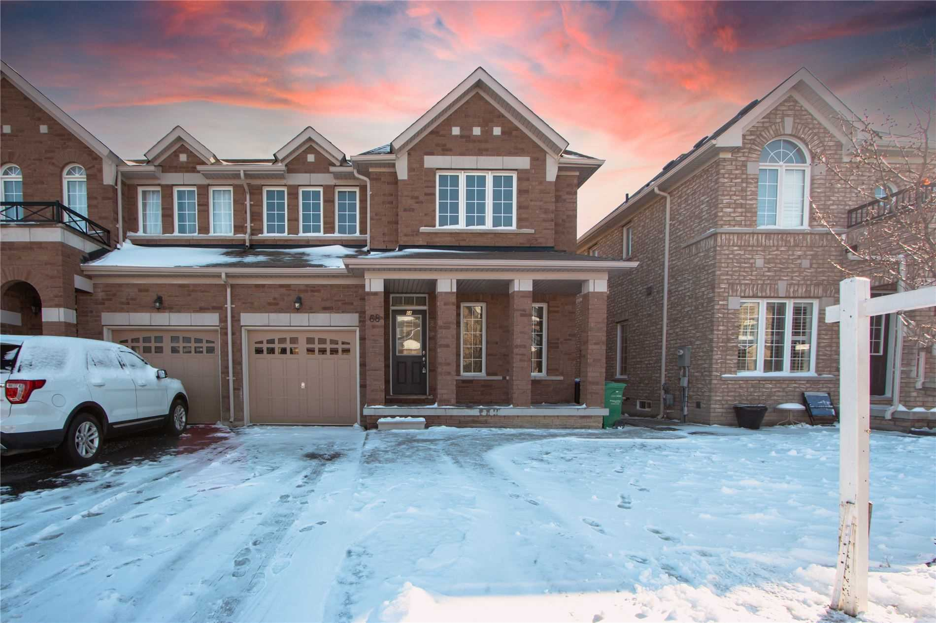 For Sale: 68 Country Ridge Court, Brampton, ON   3 Bed, 4 Bath Townhouse for $899900.00. See 1 photos!