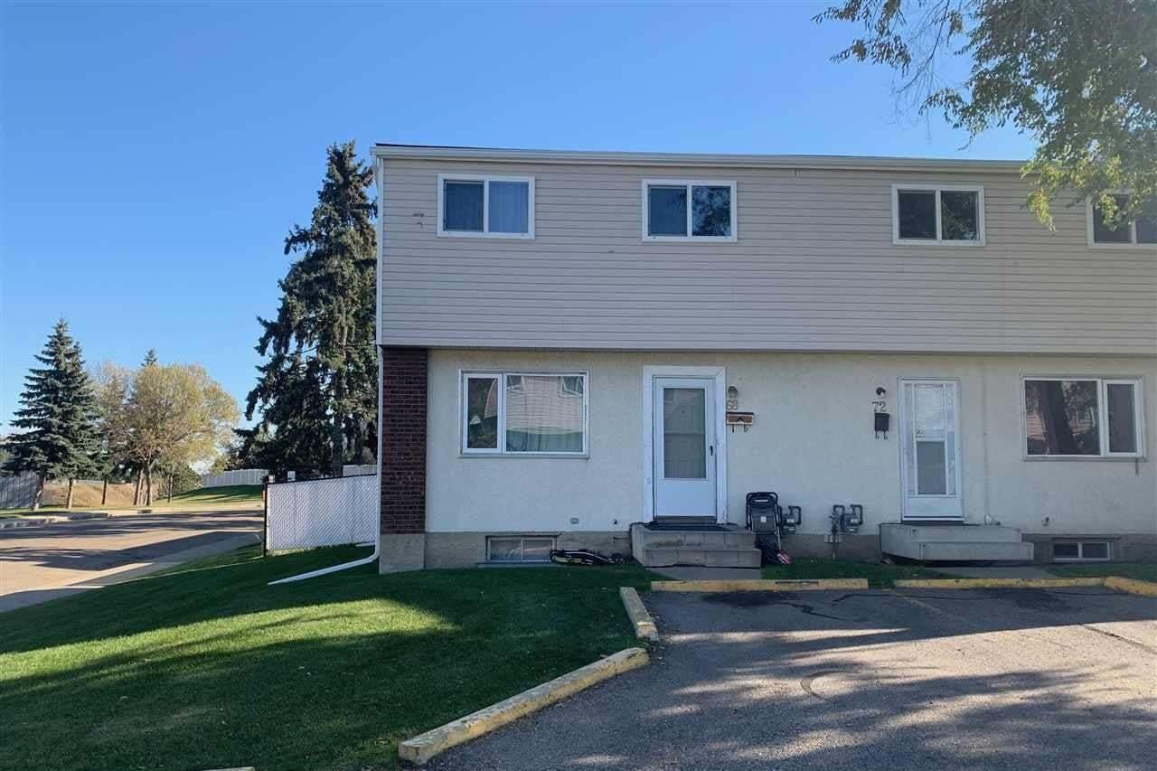 Townhouse for sale at 68 Habitat Cr NW Edmonton Alberta - MLS: E4199941