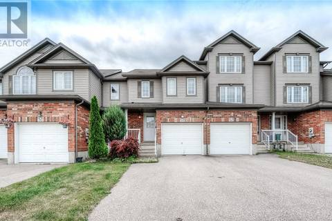 Townhouse for sale at 68 Rochefort St Kitchener Ontario - MLS: 30752574