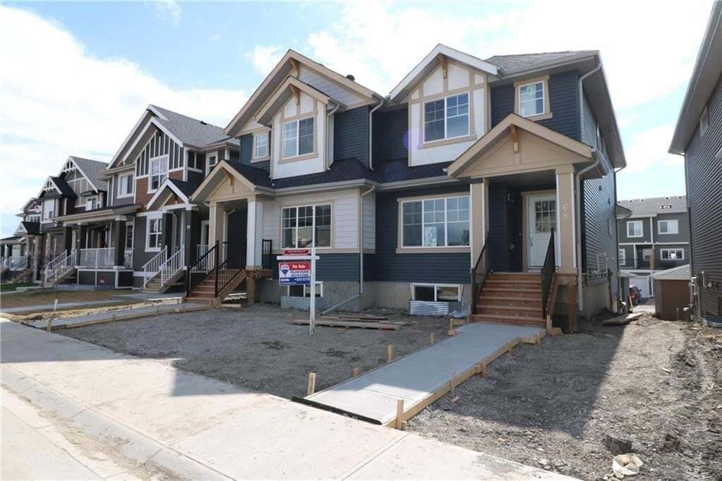 Townhouse for sale at 68 Sundown Vw Sunset Ridge, Cochrane Alberta - MLS: C4299251