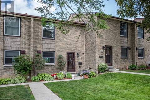 Townhouse for sale at 684 Wonderland Rd South London Ontario - MLS: 207627