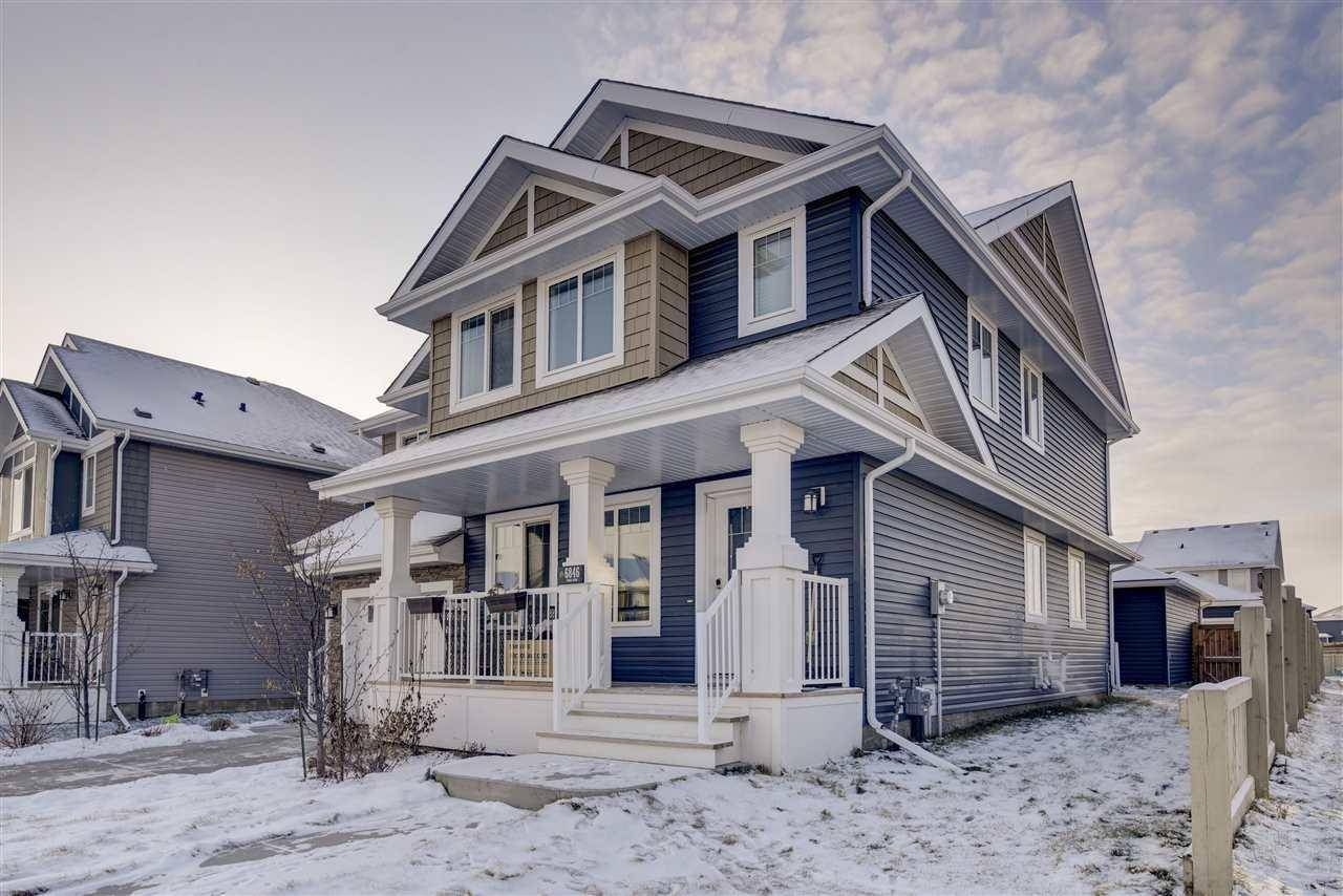 Townhouse for sale at 6846 Evans Wd Nw Edmonton Alberta - MLS: E4180996