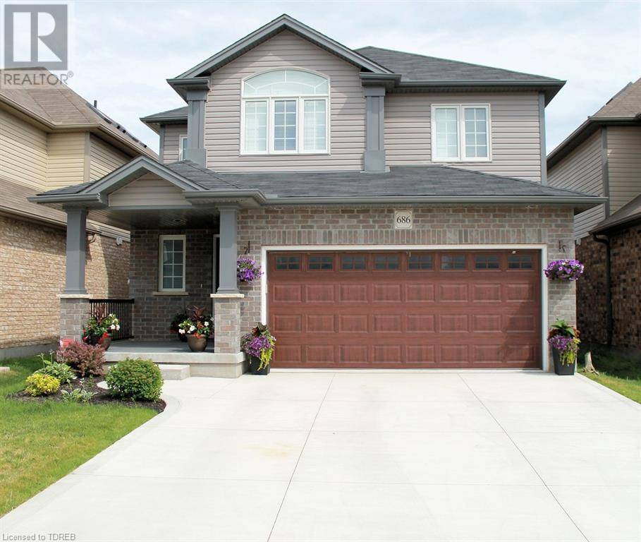 House for sale at 686 Frontenac Cres Woodstock Ontario - MLS: 210945