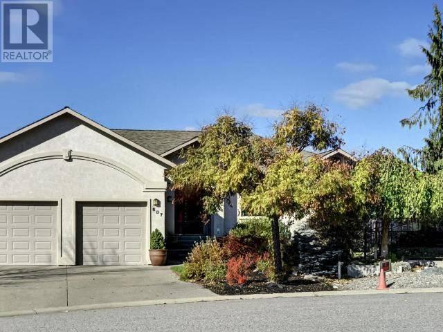 House for sale at 687 Corbitt Dr Penticton British Columbia - MLS: 181157
