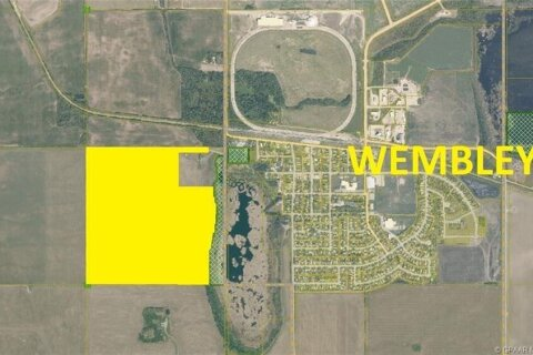 Residential property for sale at 6 Ne  Wembley Alberta - MLS: GP214712