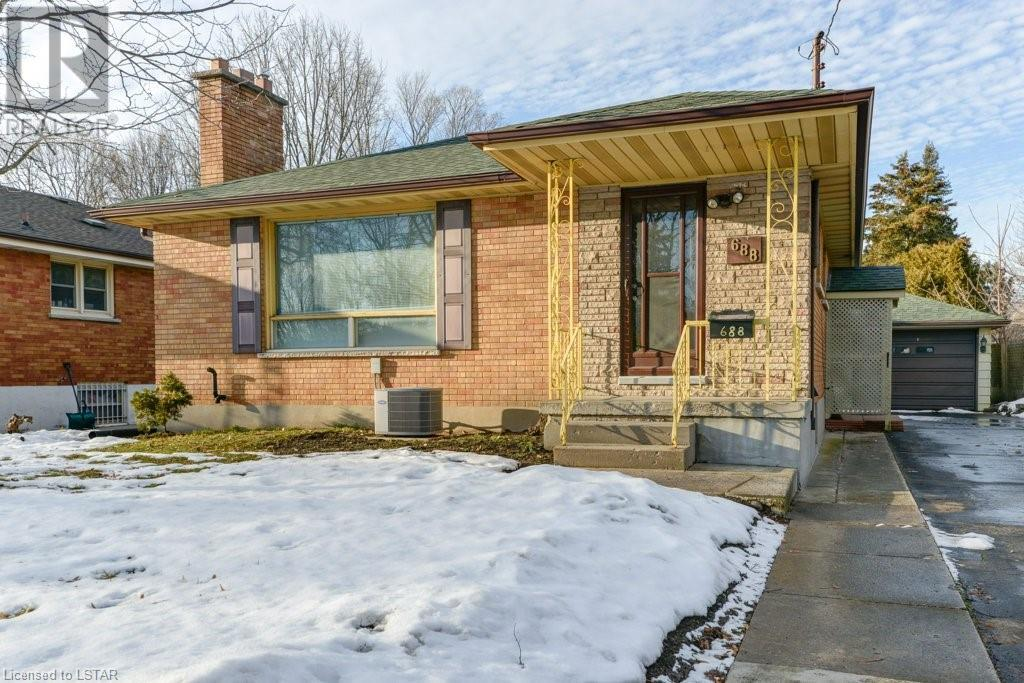 Removed: 688 Brant Street, London, ON - Removed on 2020-02-21 05:18:13