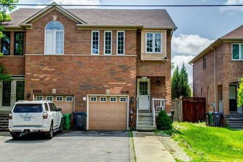 Townhouse for sale at 6888 Old Creditview Rd Mississauga Ontario - MLS: W4542408