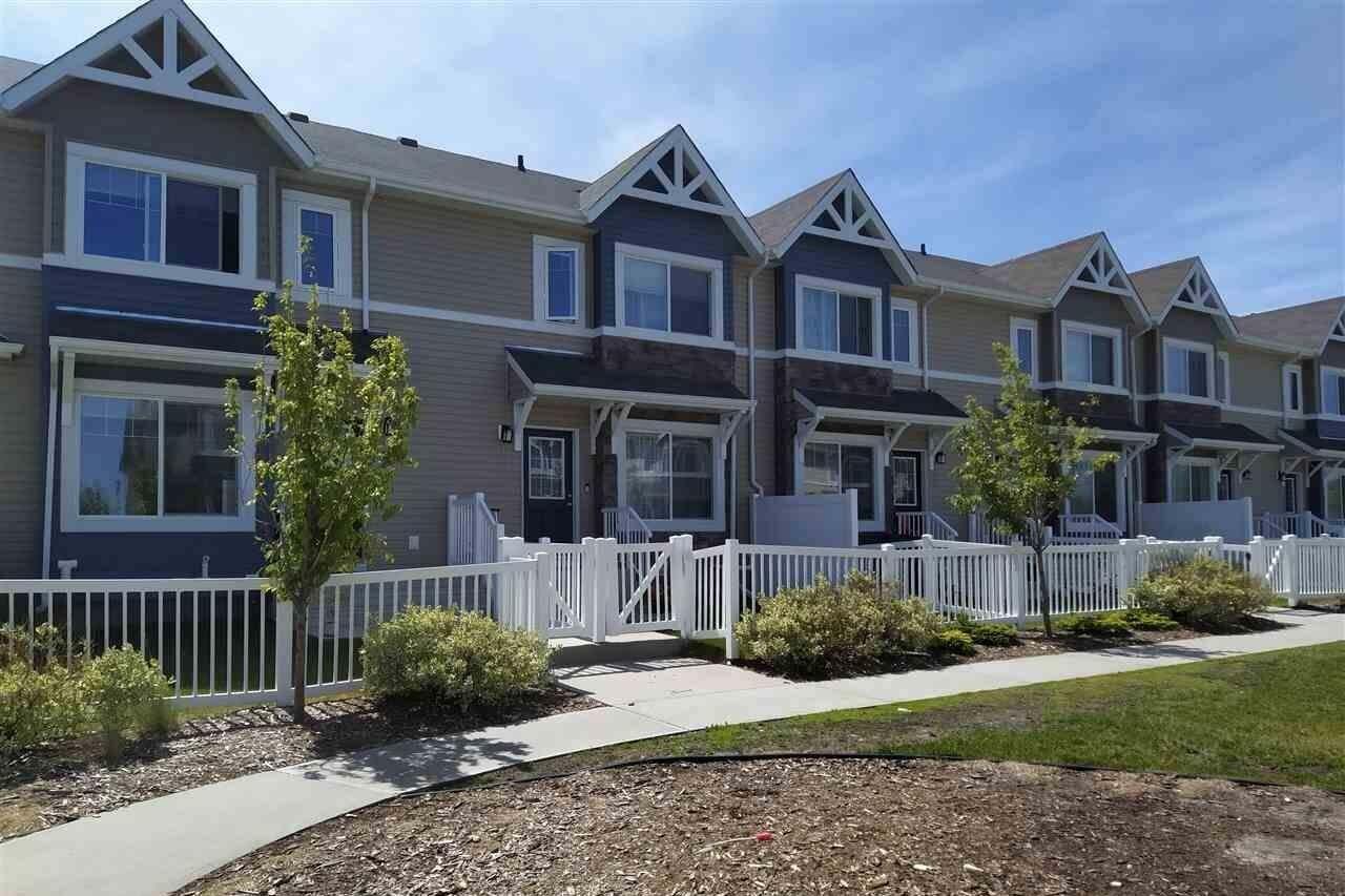 Townhouse for sale at 14621 121 St NW Unit 69 Edmonton Alberta - MLS: E4203357