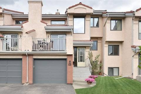 Townhouse for sale at 5810 Patina Dr Southwest Unit 69 Calgary Alberta - MLS: C4252858
