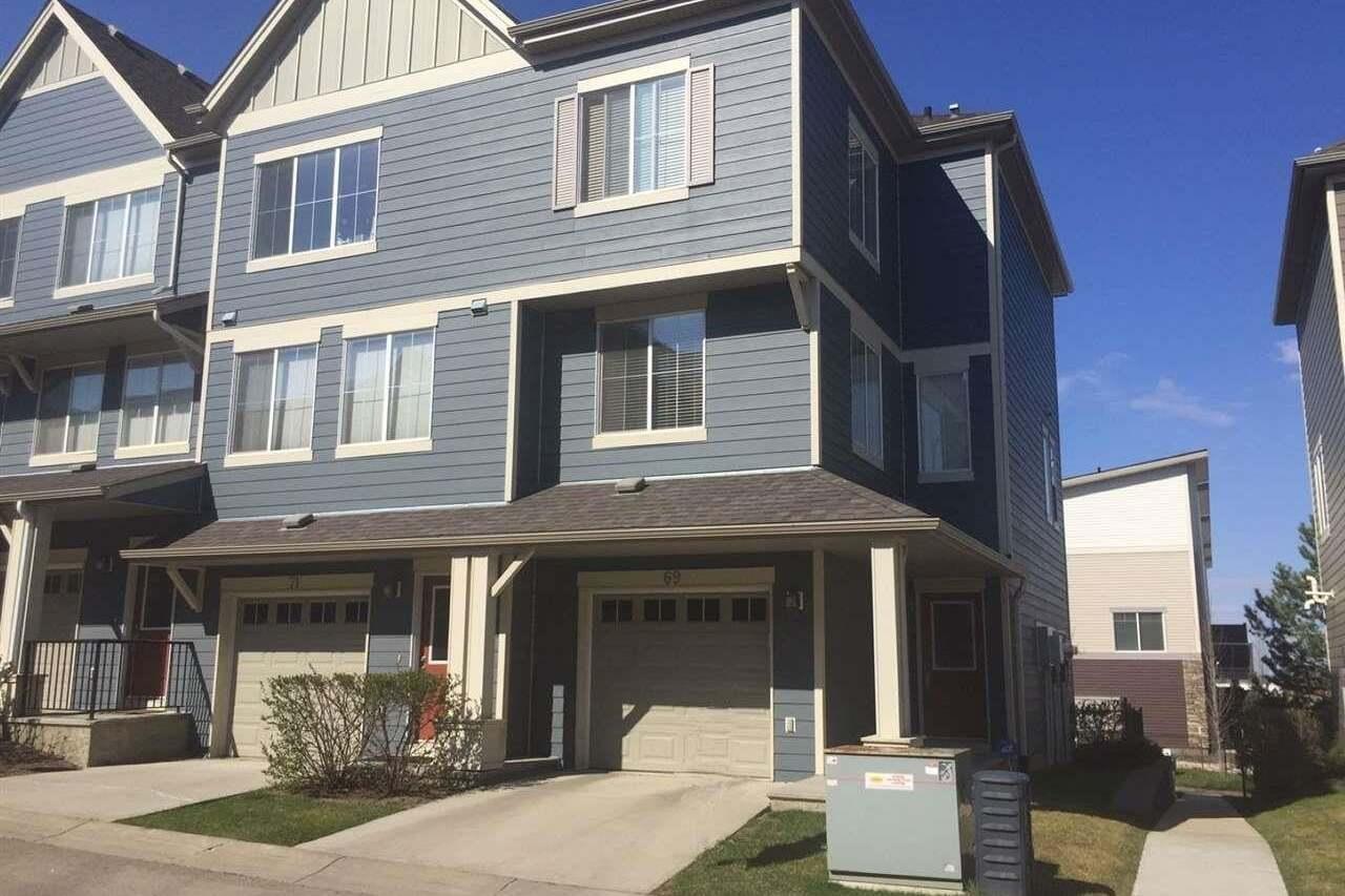 Townhouse for sale at 603 Watt Bv SW Unit 69 Edmonton Alberta - MLS: E4185645