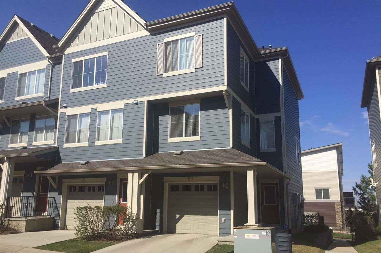 Townhouse for sale at 603 Watt Bv SW Unit 69 Edmonton Alberta - MLS: E4217095