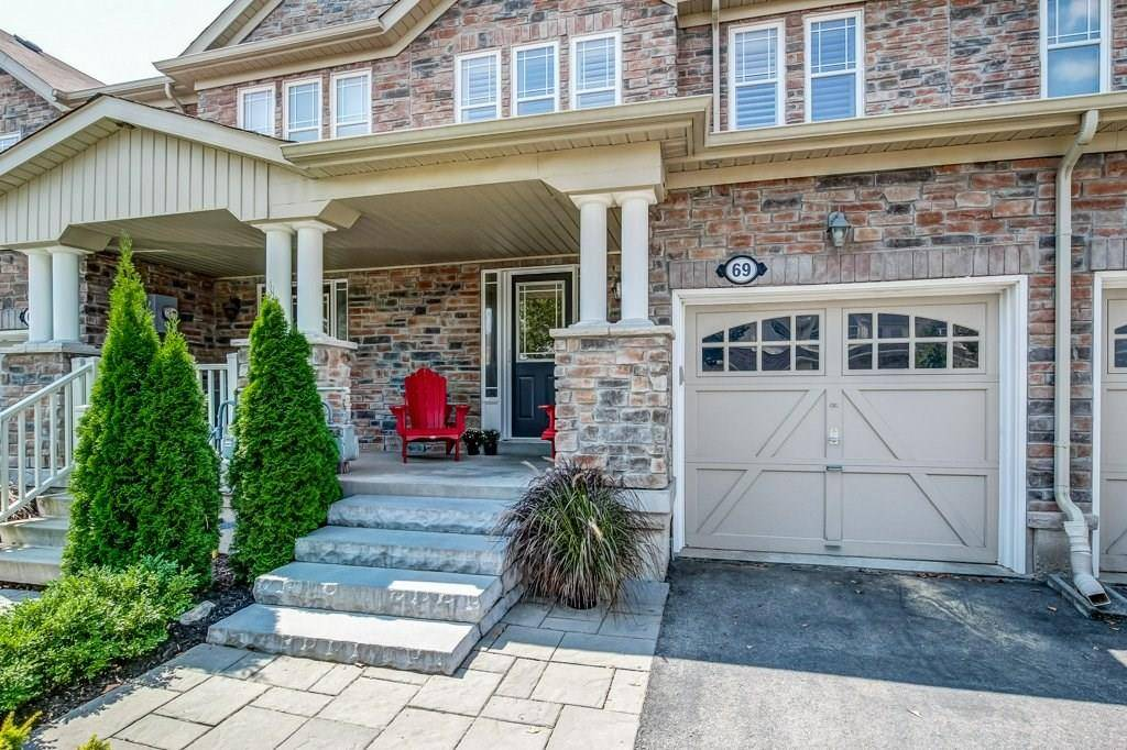 Townhouse for sale at 69 Blue Sky Tr Hamilton Ontario - MLS: H4061660