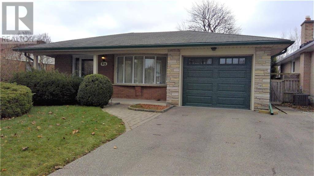 House for sale at 69 Carnaby Cres Kitchener Ontario - MLS: 30781572